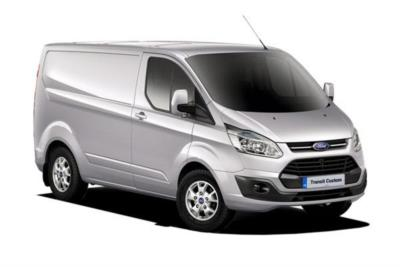 Ford Transit Custom 270 L1 Diesel FWD 2.0 TDCi 130ps Low Roof Limited Van 6Mt Business Contract Hire 6x35 10000