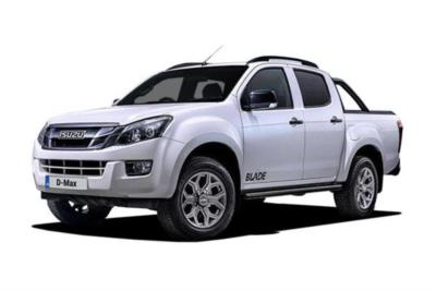 Isuzu D-Max Diesel Double Cab Blade 2.5td 4WD Auto Business Contract Hire 6x35 10000