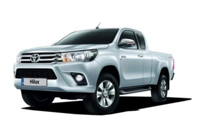 Toyota Hilux Diesel Active Extra Cab 2.4 D-4d Pick Up 6Mt Business Contract Hire 6x35 10000