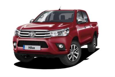 Toyota Hilux Diesel Icon Double Cab 2.4 D-4d Pick Up Auto TSS (Nav) Business Contract Hire 6x35 10000