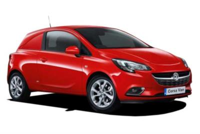Vauxhall Corsa Petrol Van 1.2i 16v 70ps 16Mdy Business Contract Hire 6x35 10000