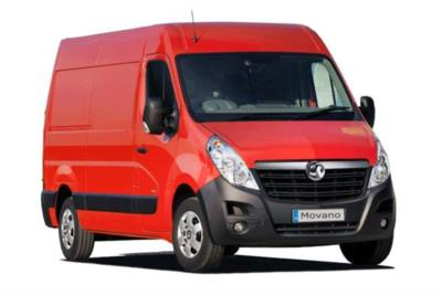 Vauxhall Movano L3 H3 3500 2.3 CDTi BiTurbo 130ps Van (Euro 6) 16Mdy Business Contract Hire 6x35 10000