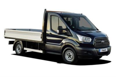 Ford Transit 350 L2 Diesel FWD 2.0 TDCi 130PS Dropside Auto Business Contract Hire 6x35 10000