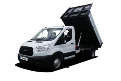 Ford Transit 470 L2 Diesel RWD 2.0 TDCi 130PS  (1 Stop 3 Way) Tipper 6Mt Business Contract Hire 6x35 10000