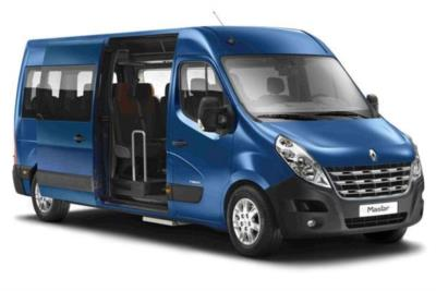 Renault Master LWB Minibus Diesel LM39 Energy dCi165 Business Medium Roof 17 Seat Business Contract Hire 6x35 10000