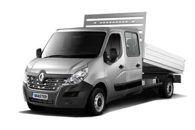Renault Master LWB Diesel RWD LL35 dCi 130 Business Low Roof Double Cab Tipper Business Contract Hire 6x35 10000