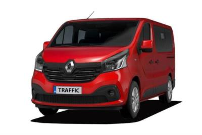 Renault Trafic SWB Minibus Diesel SL27 Energy dCi 125 Sport Nav 9 Seat Business Contract Hire 6x35 10000