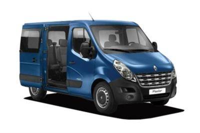 Renault Master SWB Minibus Diesel SL30 Energy dCi 110 Business Low Roof 6 Seat Combi Business Contract Hire 6x35 10000