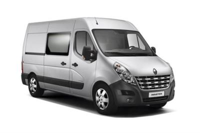 Renault Master LWB Diesel FWD LM35 dCi 130 Business Medium Roof Crew Van Business Contract Hire 6x35 10000