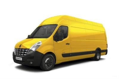 Renault Master LWB Diesel RWD LHL45 TWdCi 130 Business High Roof Van Business Contract Hire 6x35 10000