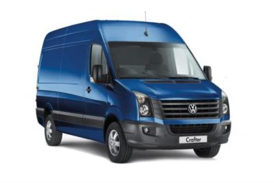 Volkswagen Crafter CR35 MWB Diesel 2.0TDi 102ps Highline High Roof Van 6Mt Business Contract Hire 6x35 10000