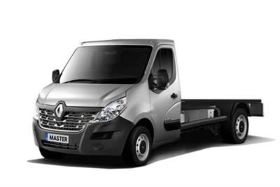Renault Master MWB Diesel FWD ML35 dCi 130 Business Low Roof Chassis Cab Business Contract Hire 6x35 10000