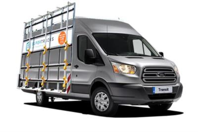 Ford Transit 330 L2 Diesel FWD 2.0 TDCi 130PS H3 Glass Van 6Mt Business Contract Hire 6x35 10000