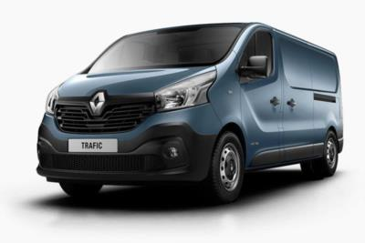 Renault Trafic LWB Diesel PCLL29 Energy dCi 145 Business Platform Cab Lease 6x47 10000