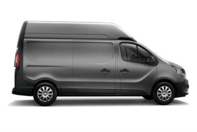 Renault Trafic LWB Diesel LH29 Energy dCi 125 High Roof Business Van Business Contract Hire 6x35 10000