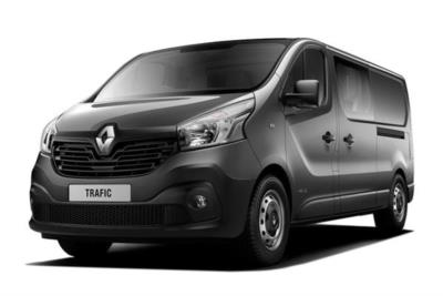 Renault Trafic LWB Diesel LL29 dCi 95 Business Crew Van Business Contract Hire 6x35 10000