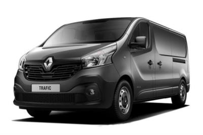 Renault Trafic LWB Diesel LL29 Energy dCi 125 Business+ Van Business Contract Hire 6x35 10000