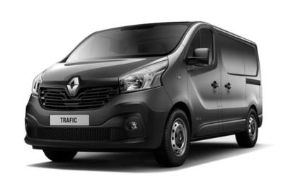 Renault Trafic SWB Diesel SL29 Energy dCi 125 Business Van Business Contract Hire 6x35 10000