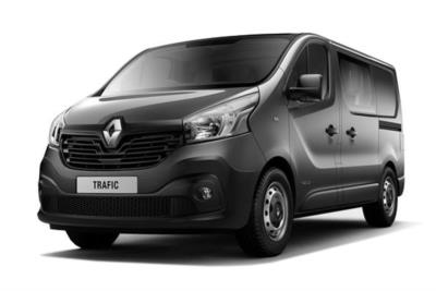 Renault Trafic SWB Diesel SL27 dCi 120 Business+ Crew Van Business Contract Hire 6x35 10000