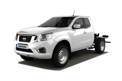 Nissan Navara Diesel 2.3dci 160ps Chassis King Cab Visia 4wd Mt Business Contract Hire 6x35 10000