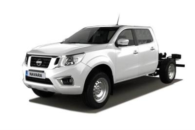 Nissan Navara Diesel 2.3dci 160ps Chassis Double Cab Visia 4wd Mt Business Contract Hire 6x35 10000