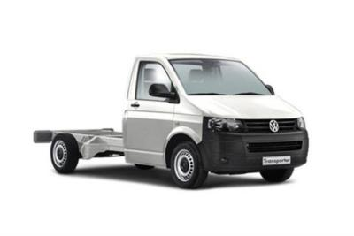 Volkswagen Transporter T30 LWB Diesel 2.0 TDI BMT 150ps Startline Chassis Double Cab DSG Business Contract Hire 6x35 10000