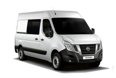 Nissan Nv400 F35 L2 Diesel 2.3 dCi 130ps H2 SE Crew Van Business Contract Hire 6x35 10000