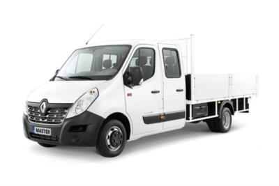Renault Master LWB Diesel FWD LL35 dCi 130 Business Low Roof Double Cab Dropside Business Contract Hire 6x35 10000