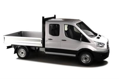 Ford Transit 350 L3 Diesel RWD 2.0 TDCi 130PS Double Cab Dropside 6Mt Business Contract Hire 6x35 10000