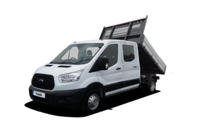 Ford Transit 350 L3 Diesel RWD 2.0 TDCi 105PS Double Cab (1 Stop 1 Way) Tipper 6Mt Business Contract Hire 6x35 10000