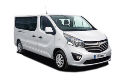 Vauxhall Vivaro L2 Diesel Van 2900 1.6 CDTi BiTurbo 125ps H1 Combi 9 seat Business Contract Hire 6x35 10000