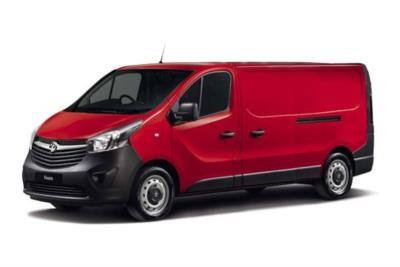 Vauxhall Vivaro L2 Diesel Van 1.6 CDTi BiTurbo 125ps H1 Van Business Contract Hire 6x35 10000