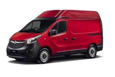 Vauxhall Vivaro L1 Diesel Van 2900 1.6 CDTi BiTurbo 125ps H2 Van Business Contract Hire 6x35 10000