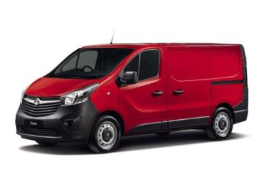 Vauxhall Vivaro L1 Diesel Van 2900 1.6 CDTi BiTurbo 125ps H1 Van Business Contract Hire 6x35 10000