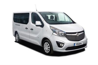 Vauxhall Vivaro L1 Diesel Van 2900 1.6 CDTi 95ps EcoFlex H1 Combi 9 Seat Business Contract Hire 6x35 10000