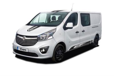 Vauxhall Vivaro L2 Special Editions 2900 1.6 CDTi BiTurbo 125ps Ltd Edition Nav D/Cab Business Contract Hire 6x35 10000
