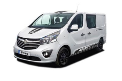 Vauxhall Vivaro L1 Special Editions 2900 1.6 CDTi BiTurbo 125ps Ltd Edition Nav D/Cab Business Contract Hire 6x35 10000