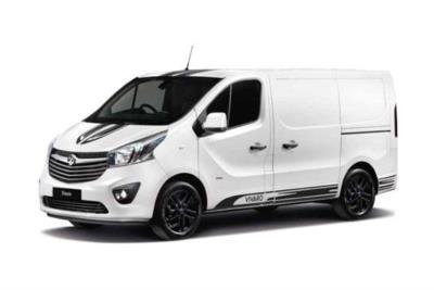 Vauxhall Vivaro L1 Special Editions 2700 1.6 CDTi BiTurbo 125ps Ltd Edition Nav Van Business Contract Hire 6x35 10000