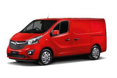 Vauxhall Vivaro L1 Diesel Van 2900 1.6 CDTi BiTurbo 125ps Sportive H1 Van Business Contract Hire 6x35 10000