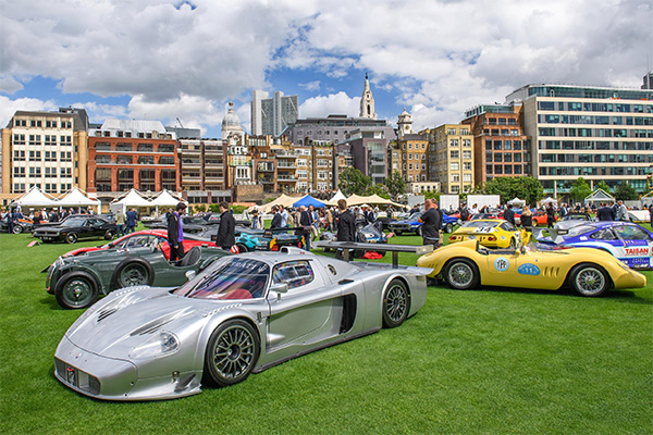 City Concours inaugural event to return to London in 2018
