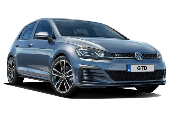 Volkswagen Golf Hatchback 2.0 Tdi 184ps GTD 5dr from £256.96 + VAT per month