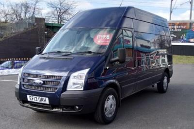 Ford Transit 350 Lwb Diesel Rwd High Roof Trend TDCi 125 Van Business Contract Hire 6x35 10000