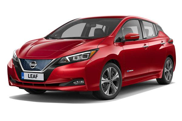 Nissan Leaf Hatchback Tekna 5dr Auto from £253.46 + VAT per month