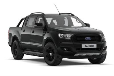 Ford Ranger Diesel Special Edition Pick Up Double Cab Black Edition 2.2 TDCi Auto Lease 6x47 10000