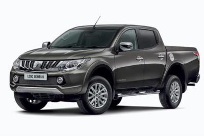 Mitsubishi L200 Diesel Double Cab 178ps Di-d Barbarian 4wd Auto Business Contract Hire 6x47 10000