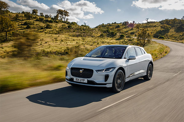 Revolutionary all-electric Jaguar I-PACE performance SUV named as the BBC TopGear Magazine EV of the Year