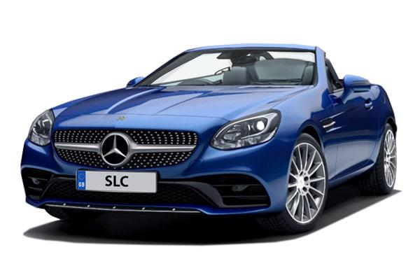 Mercedes Benz SLC Roadster 180 AMG Line contract hire and leasing deal from £259.68 + VAT per month
