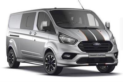 Ford Transit Custom 320 L1 Diesel FWD 2.0L Ford EcoBlue 185ps Low Roof Double Cab Sport Van Auto Lease 6x47 10000