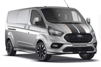 Ford Transit Custom 320 L2 Diesel FWD 2.0L Ford EcoBlue 185ps Low Roof Sport Van Auto Lease 6x47 10000
