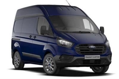 Ford Transit Custom 300 L1 Diesel FWD 2.0L Ford EcoBlue 130ps High Roof Trend Van Auto Lease 6x47 10000